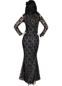 Платье скелета кружевное -2