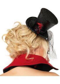 Мини шляпка с вуалью-2
