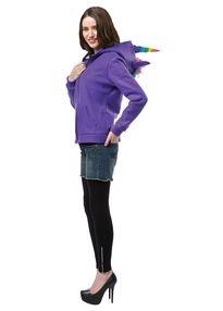 Толстовка Фиолетовый Единорог взрослая-2