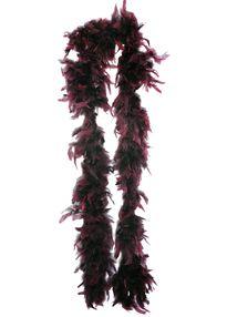 Боа из перьев 180 см букгунди