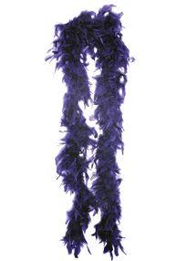 Боа из перьев 180 см фиолетовая