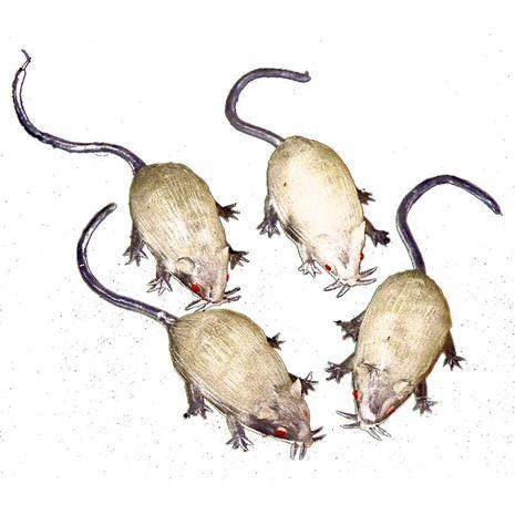 Белые мышки 4 шт