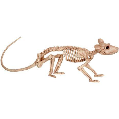 Бутафорский скелет крысы
