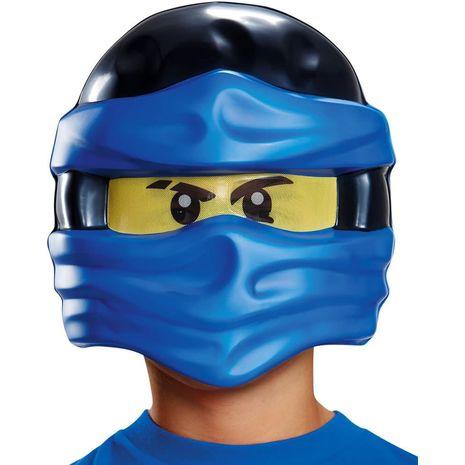 Детская маска Джея из Лего Ниндзяго