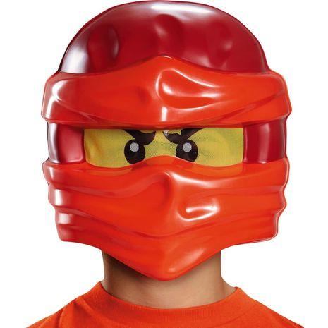 Детская маска Кая из Лего Ниндзяго