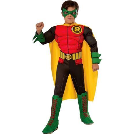 Детский 3Д костюм Робина