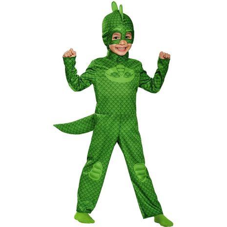 Детский костюм Гекко из мультфильма Пи-Джей Маски