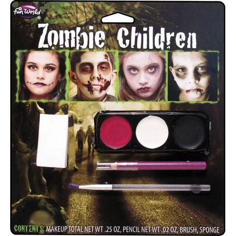 Детский набор грима Зомби