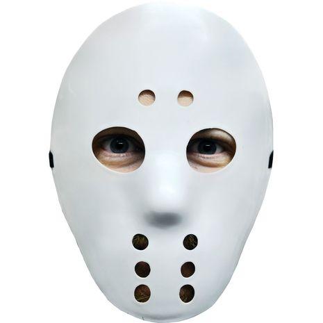 Хоккейная маска белая