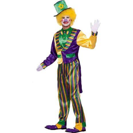 Карнавальный костюм блестящего клоуна