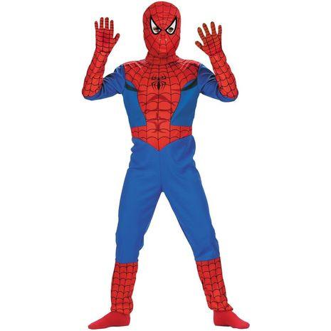 Карнавальный костюм человека-паука комический