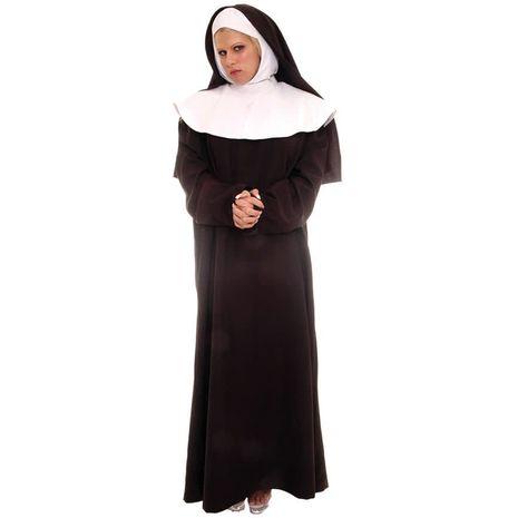 Карнавальный костюм монашки