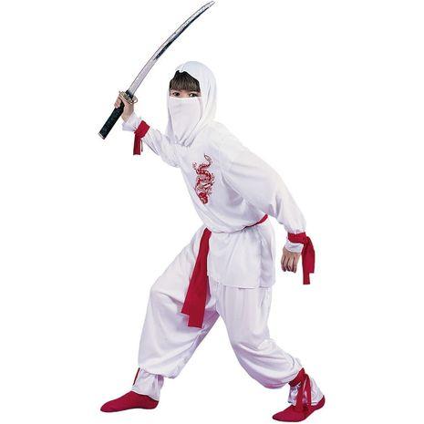 Карнавальный костюм Ниндзя белый