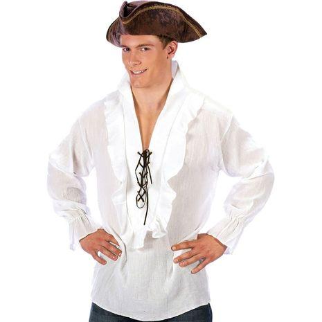 Карнавальный костюм пирата в белом