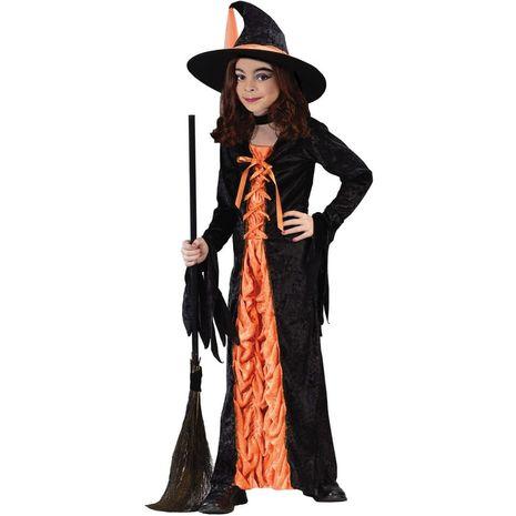 Карнавальный костюм ведьмочки