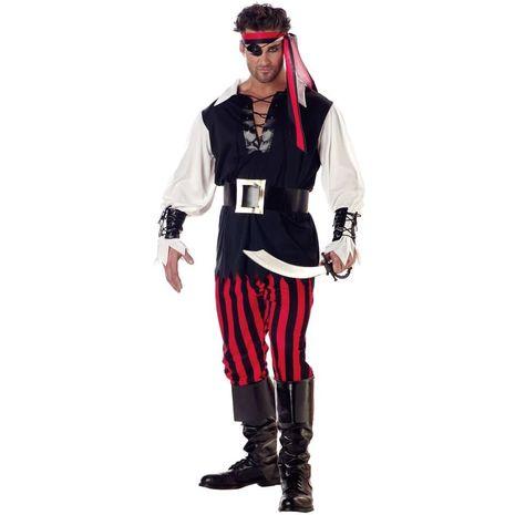 Костюм Пират Головорез взрослый