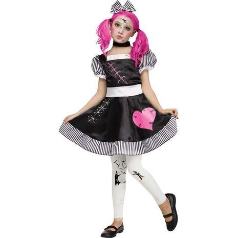 Костюм сломаной куклы