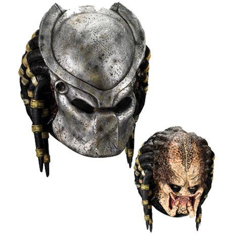 Маска и шлем Хищник