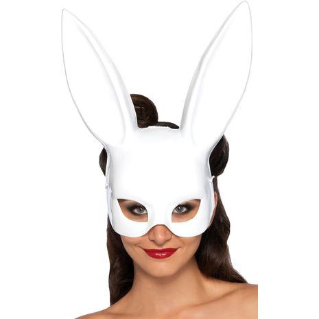Маска кролика белая
