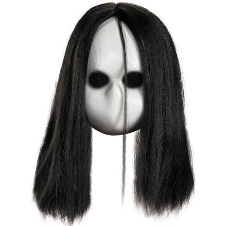 Маска куклы с черными глазами