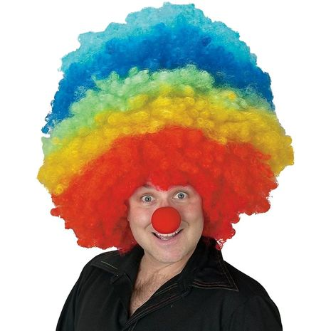 Мега парик клоуна