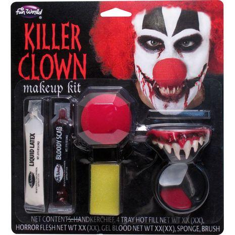 Набор грима клоуна убийцы