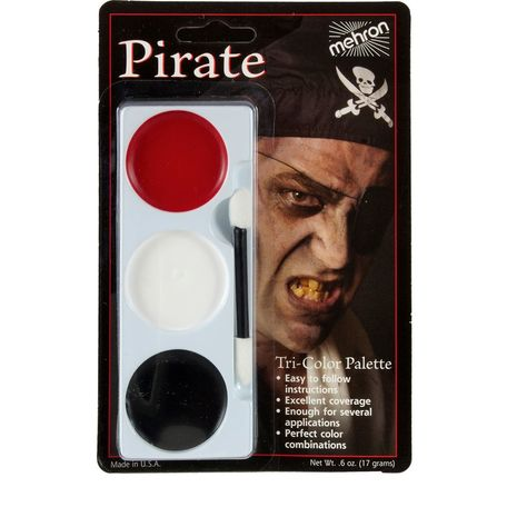 Набор грима Пират