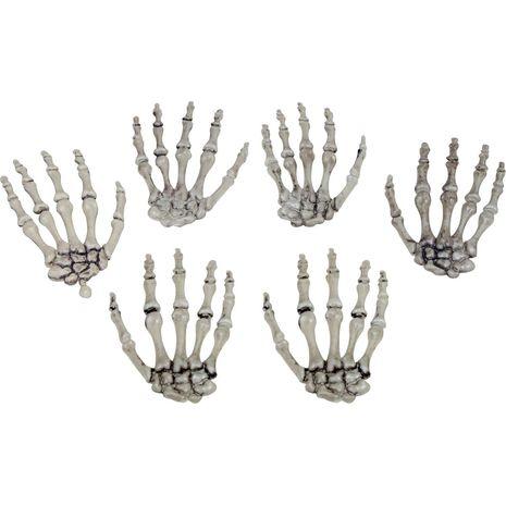 Пальцы скелета