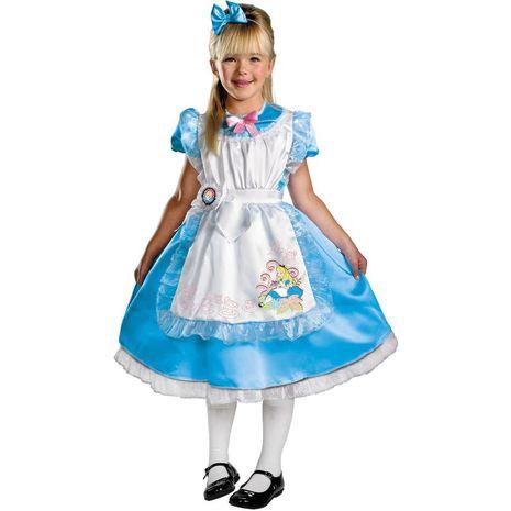 """Роскошный костюм Алисы из""""Алиса в стране чудес"""""""
