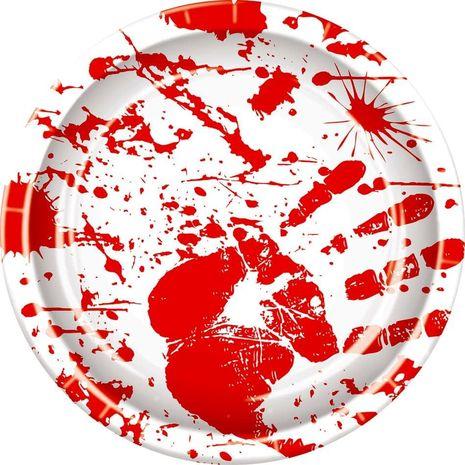 Тарелки Отпечатки крови