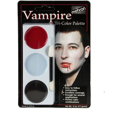 Трехцвеная палитра Вампир