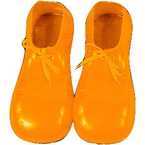 Туфли клоуна жёлтые