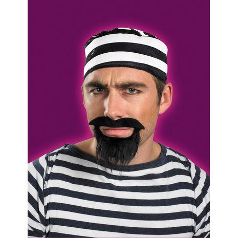 Усы и борода заключенного