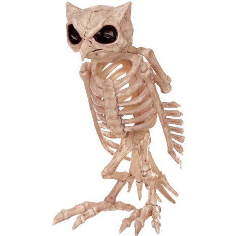 Бутафория Скелет Совы