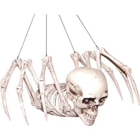 Бутафорский скелет человека - паука подвесной