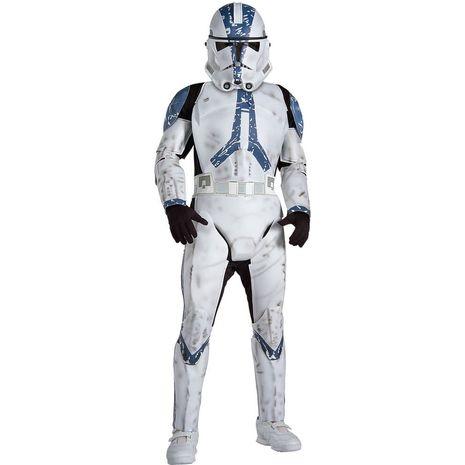 Детский дэлюкс костюм Клона из фильма  Звездные войны