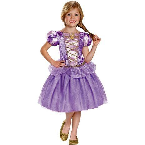 Детский классический костюм Рапунзель