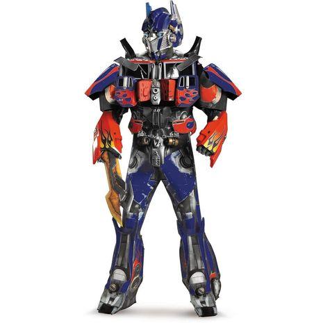 Качественный костюм Оптимуса  Трансформеры