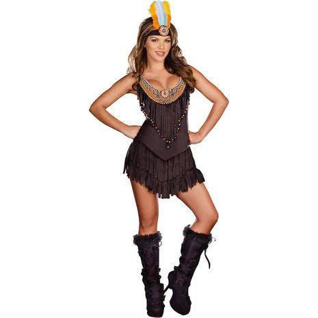 Карнавальный костюм индейца из резерваций