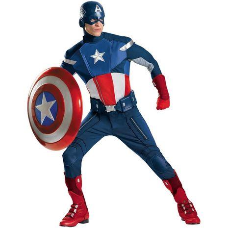 Карнавальный костюм капитан Америка мститель