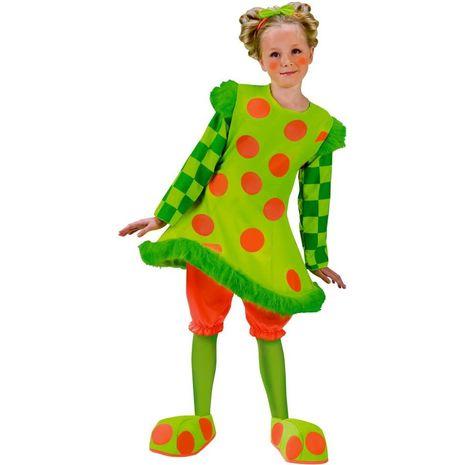 Карнавальный костюм клоуна детский