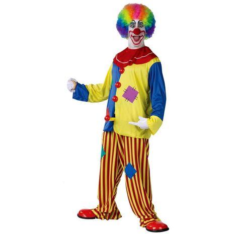 Карнавальный костюм клоуна классический