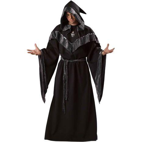 Костюм колдуна черный