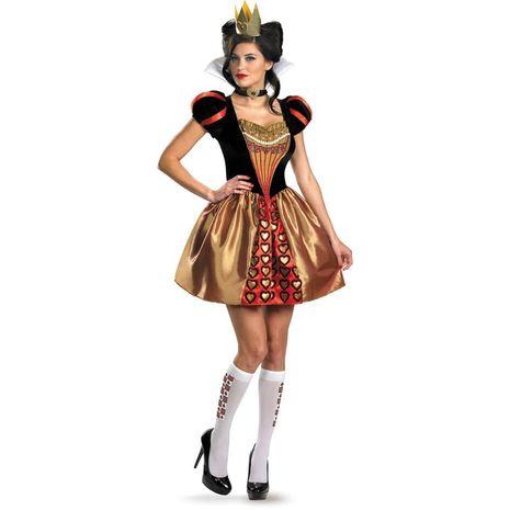 Карнавальный костюм королевы, героини АЛИСА В СТРАНЕ ЧУДЕС