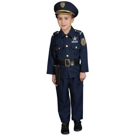Костюм офицера полиции синий