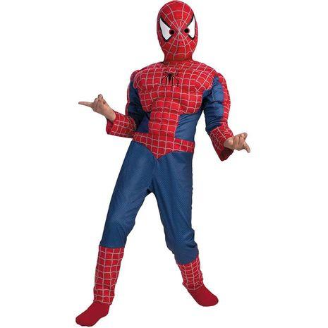 Карнавальный костюм спайдермена с мускулами