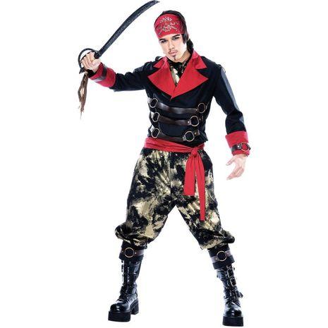 Карнавальный костюм злого пирата