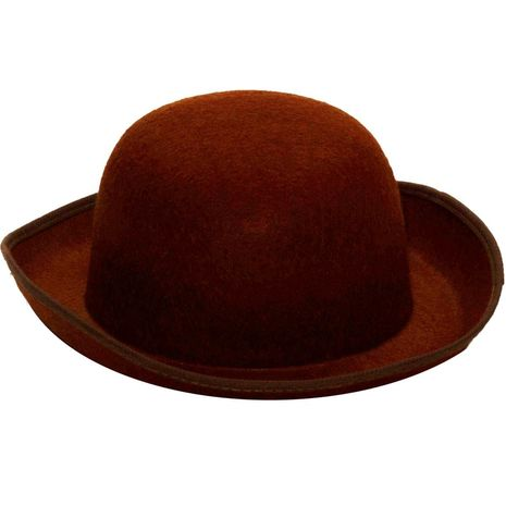 Коричневая шляпа в стиле стимпанк