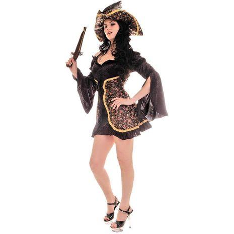 Костюм роскошной пиратки