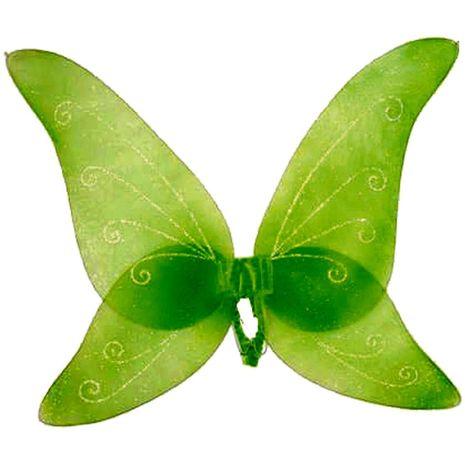 Крылья бабочки зелёные